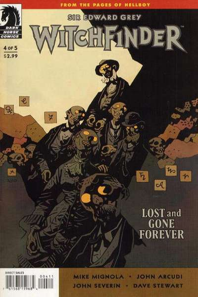 Sir Edward Grey: Witchfinder - Lost and Gone Forever #4 comic books for sale