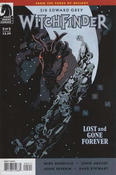 Sir Edward Grey: Witchfinder - Lost and Gone Forever #5 comic books for sale