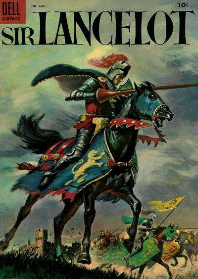 Sir Lancelot comic books