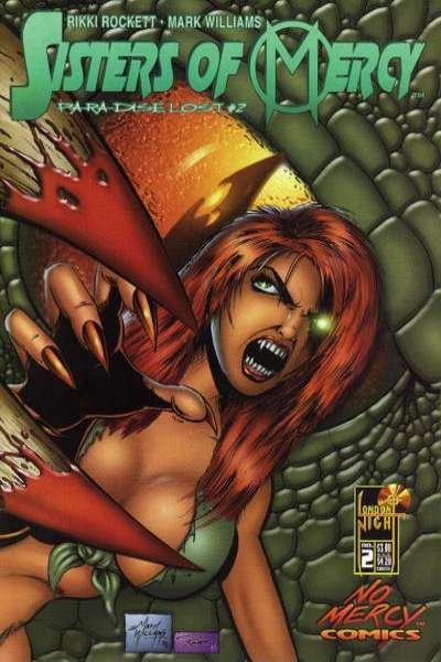 Sisters of Mercy: Paradise Lost #2 comic books for sale