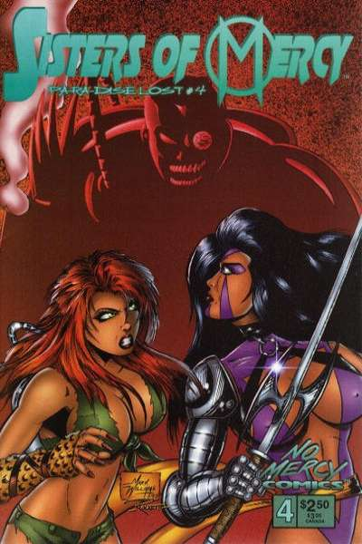 Sisters of Mercy: Paradise Lost #4 comic books for sale