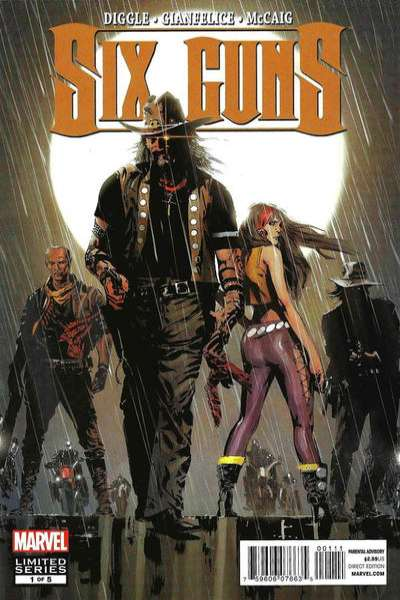 Six Guns #1 comic books for sale
