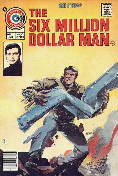 Six Million Dollar Man #1 Comic Books - Covers, Scans, Photos  in Six Million Dollar Man Comic Books - Covers, Scans, Gallery