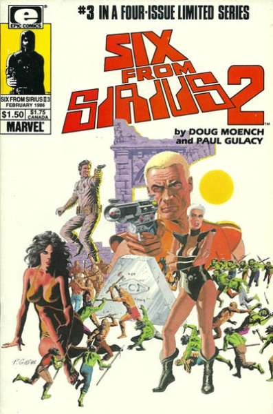 Six from Sirius 2 #3 Comic Books - Covers, Scans, Photos  in Six from Sirius 2 Comic Books - Covers, Scans, Gallery