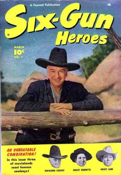 Six-Gun Heroes Comic Books. Six-Gun Heroes Comics.