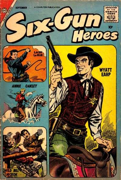Six-Gun Heroes #48 comic books - cover scans photos Six-Gun Heroes #48 comic books - covers, picture gallery