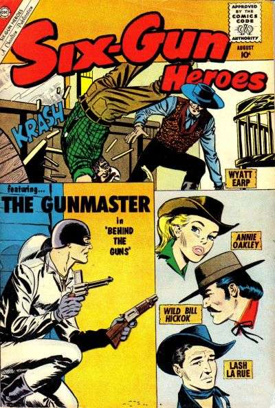 Six-Gun Heroes #58 Comic Books - Covers, Scans, Photos  in Six-Gun Heroes Comic Books - Covers, Scans, Gallery