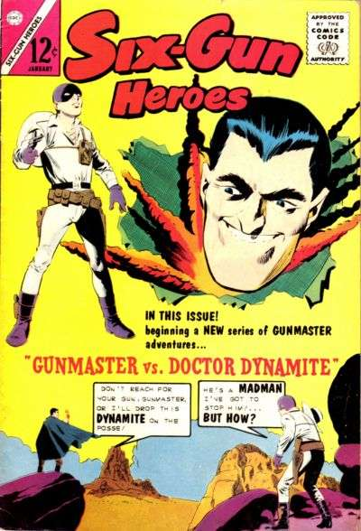 Six-Gun Heroes #64 Comic Books - Covers, Scans, Photos  in Six-Gun Heroes Comic Books - Covers, Scans, Gallery