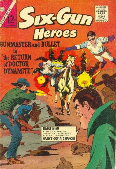 Six-Gun Heroes #80 Comic Books - Covers, Scans, Photos  in Six-Gun Heroes Comic Books - Covers, Scans, Gallery