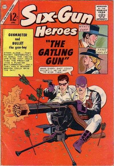 Six-Gun Heroes #83 Comic Books - Covers, Scans, Photos  in Six-Gun Heroes Comic Books - Covers, Scans, Gallery