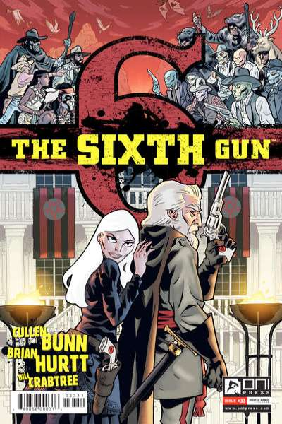 Sixth Gun #33 comic books for sale