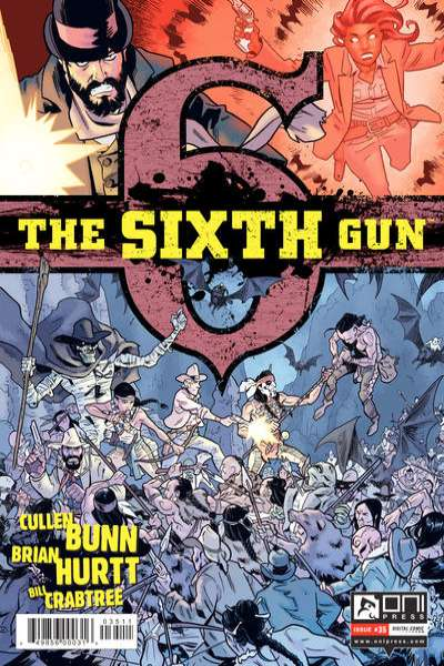Sixth Gun #35 comic books for sale