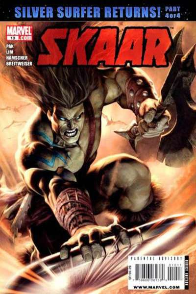 Skaar: Son of Hulk #10 comic books - cover scans photos Skaar: Son of Hulk #10 comic books - covers, picture gallery