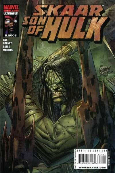 Skaar: Son of Hulk #4 comic books - cover scans photos Skaar: Son of Hulk #4 comic books - covers, picture gallery