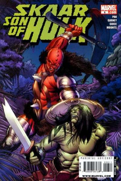 Skaar: Son of Hulk #6 comic books - cover scans photos Skaar: Son of Hulk #6 comic books - covers, picture gallery