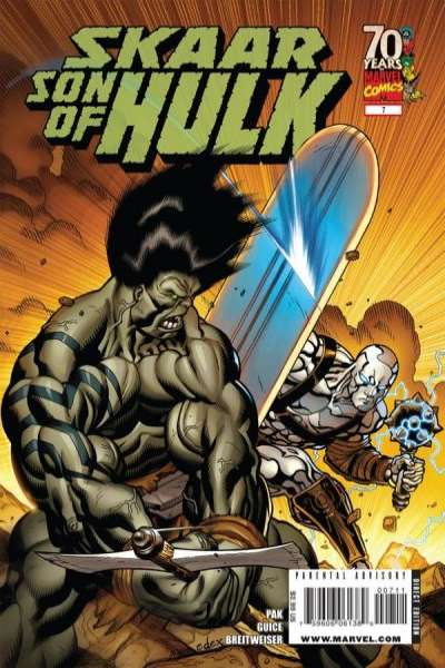 Skaar: Son of Hulk #7 Comic Books - Covers, Scans, Photos  in Skaar: Son of Hulk Comic Books - Covers, Scans, Gallery
