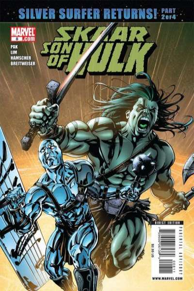 Skaar: Son of Hulk #8 Comic Books - Covers, Scans, Photos  in Skaar: Son of Hulk Comic Books - Covers, Scans, Gallery