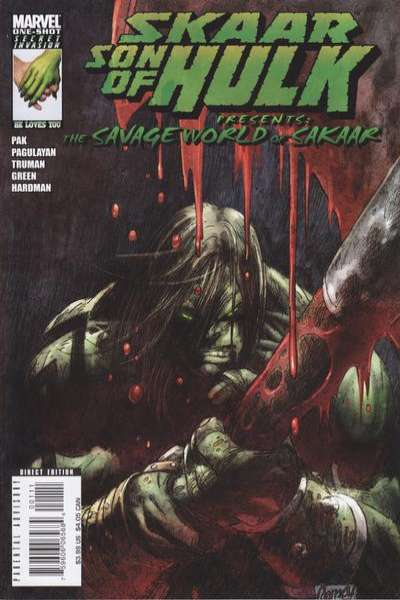 Skaar: Son of Hulk #1 comic books - cover scans photos Skaar: Son of Hulk #1 comic books - covers, picture gallery