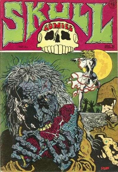 Skull #3 comic books for sale