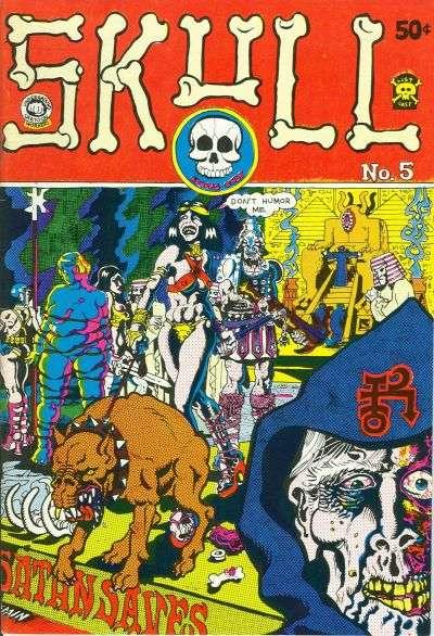 Skull #5 comic books for sale