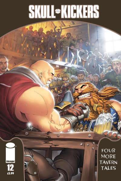 Skullkickers #12 Comic Books - Covers, Scans, Photos  in Skullkickers Comic Books - Covers, Scans, Gallery