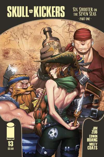 Skullkickers #13 Comic Books - Covers, Scans, Photos  in Skullkickers Comic Books - Covers, Scans, Gallery