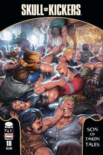 Skullkickers #18 Comic Books - Covers, Scans, Photos  in Skullkickers Comic Books - Covers, Scans, Gallery