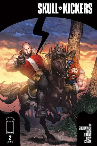 Skullkickers #2 comic books - cover scans photos Skullkickers #2 comic books - covers, picture gallery