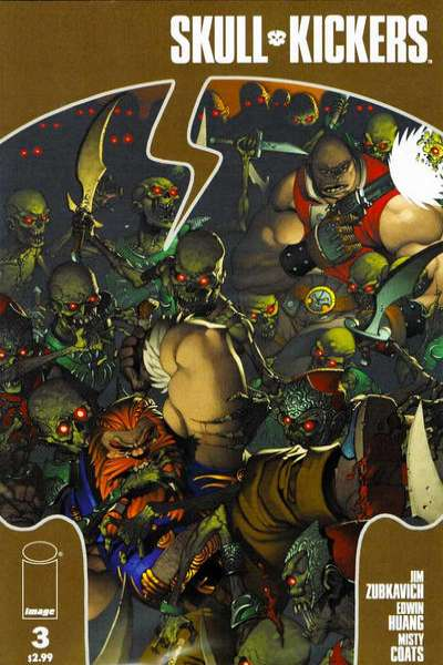 Skullkickers #3 comic books - cover scans photos Skullkickers #3 comic books - covers, picture gallery