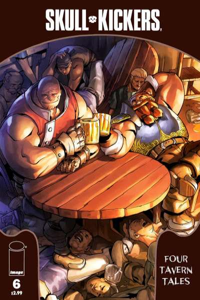 Skullkickers #6 comic books - cover scans photos Skullkickers #6 comic books - covers, picture gallery