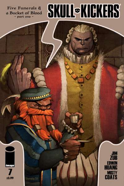 Skullkickers #7 comic books - cover scans photos Skullkickers #7 comic books - covers, picture gallery