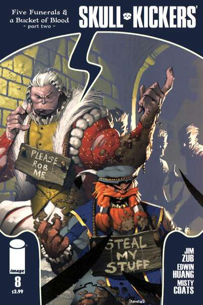 Skullkickers #8 comic books for sale