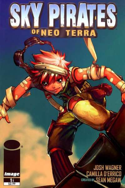 Sky Pirates of Neo Terra comic books