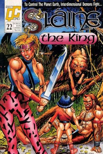 Slaine: The Berserker #22 Comic Books - Covers, Scans, Photos  in Slaine: The Berserker Comic Books - Covers, Scans, Gallery