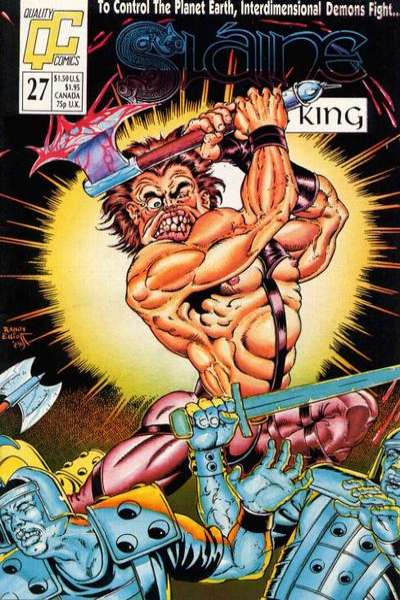 Slaine: The Berserker #27 Comic Books - Covers, Scans, Photos  in Slaine: The Berserker Comic Books - Covers, Scans, Gallery