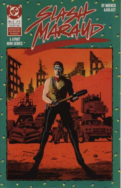 Slash Maraud #3 comic books for sale