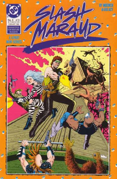 Slash Maraud #4 comic books for sale