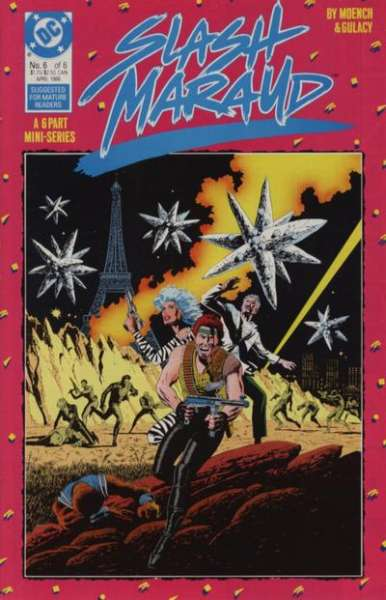 Slash Maraud #6 comic books for sale