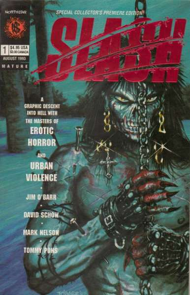 Slash #1 Comic Books - Covers, Scans, Photos  in Slash Comic Books - Covers, Scans, Gallery