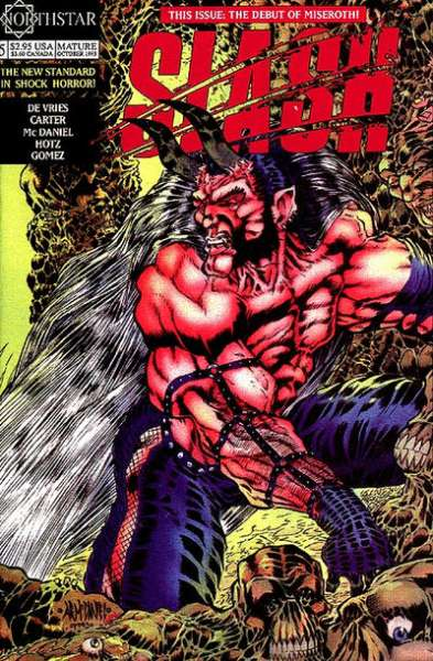Slash #5 Comic Books - Covers, Scans, Photos  in Slash Comic Books - Covers, Scans, Gallery