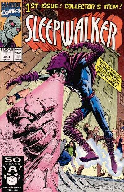 Sleepwalker comic books