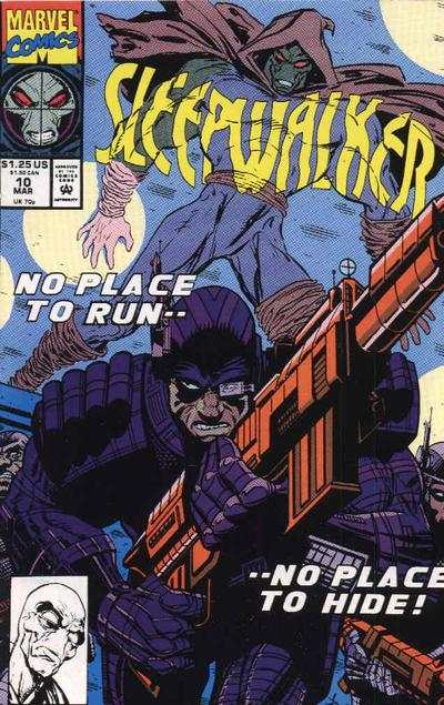 Sleepwalker #10 comic books - cover scans photos Sleepwalker #10 comic books - covers, picture gallery