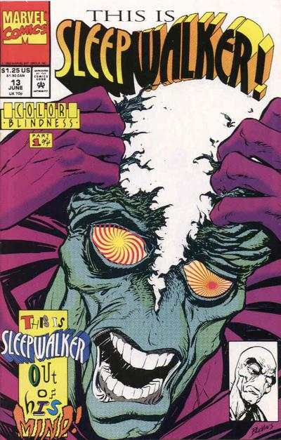 Sleepwalker #13 Comic Books - Covers, Scans, Photos  in Sleepwalker Comic Books - Covers, Scans, Gallery
