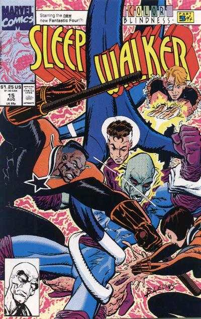 Sleepwalker #15 Comic Books - Covers, Scans, Photos  in Sleepwalker Comic Books - Covers, Scans, Gallery
