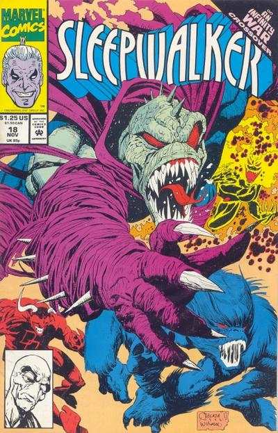 Sleepwalker #18 Comic Books - Covers, Scans, Photos  in Sleepwalker Comic Books - Covers, Scans, Gallery