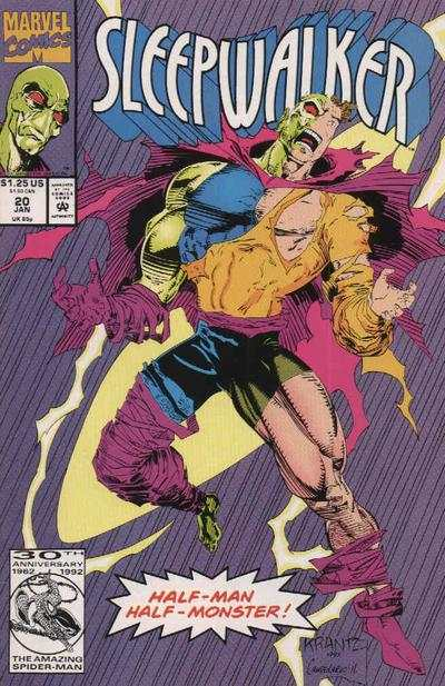 Sleepwalker #20 Comic Books - Covers, Scans, Photos  in Sleepwalker Comic Books - Covers, Scans, Gallery