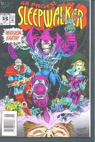 Sleepwalker #25 Comic Books - Covers, Scans, Photos  in Sleepwalker Comic Books - Covers, Scans, Gallery