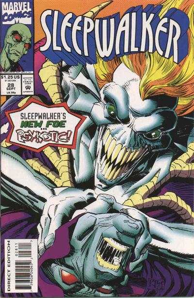 Sleepwalker #28 comic books - cover scans photos Sleepwalker #28 comic books - covers, picture gallery