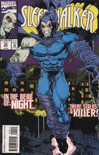 Sleepwalker #30 comic books - cover scans photos Sleepwalker #30 comic books - covers, picture gallery