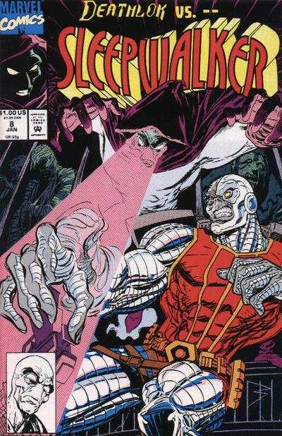 Sleepwalker #8 Comic Books - Covers, Scans, Photos  in Sleepwalker Comic Books - Covers, Scans, Gallery